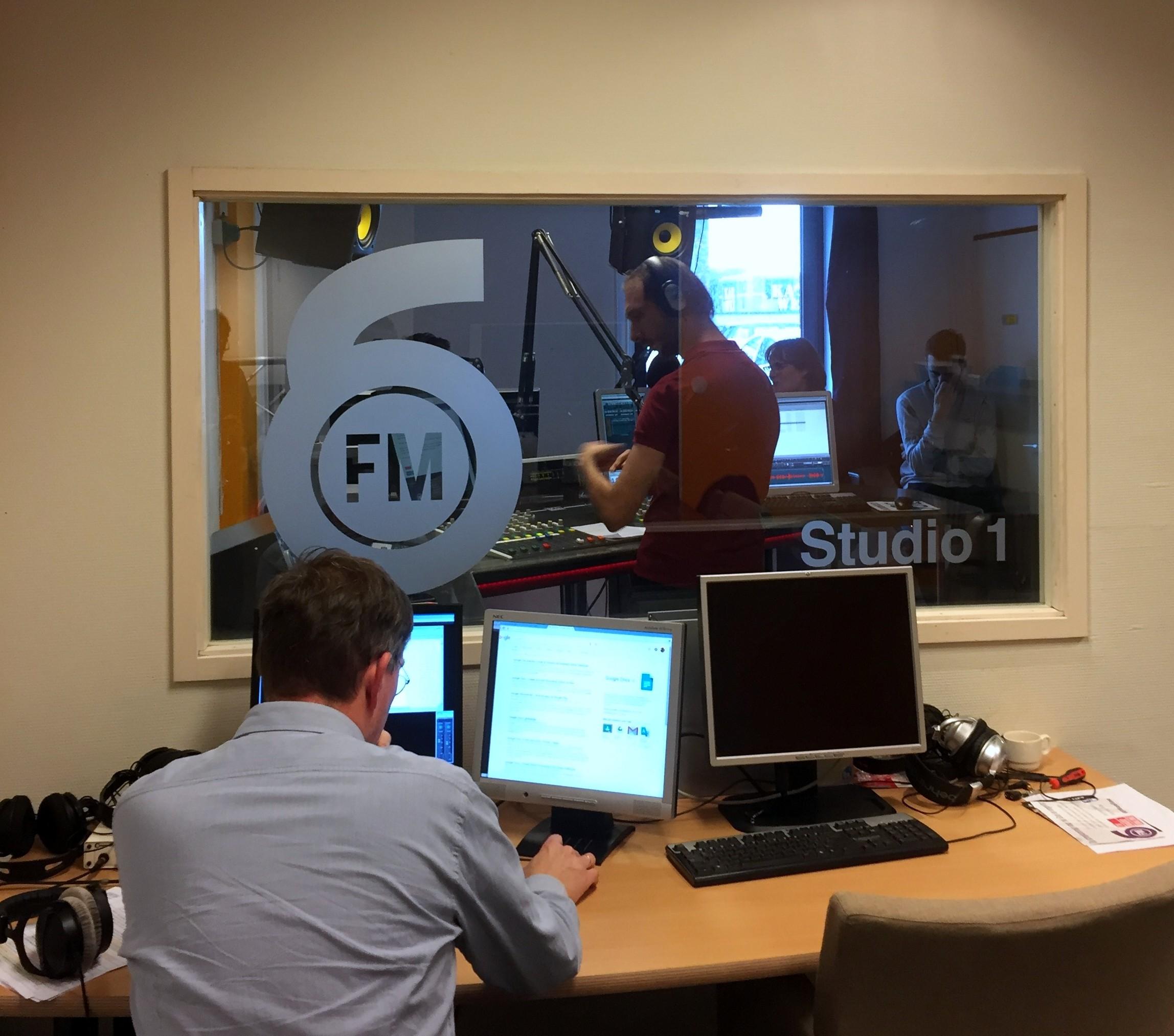 Radio6FM interview herdenkingskralen